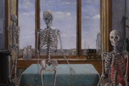 Paul Delavux, en attendant la liberation