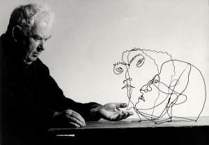 Ugo Mulas. Alexander Calder, Saché, 1963.